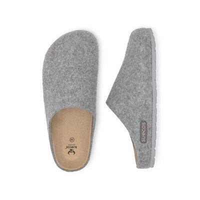 Suecos HEM dames pantoffels Grijs