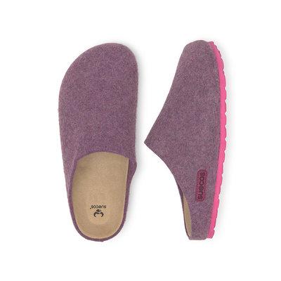 Suecos HEM dames pantoffels Paars