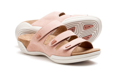 Suecos sandalen NILSA Pastel