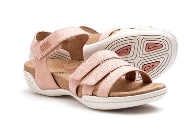 Suecos sandalen HELMI Pastel